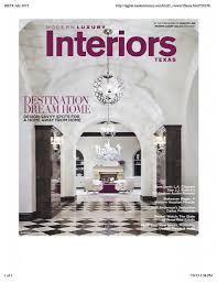 100 Modern Design Magazines Luxury Interiors Texas Magazine Archives Aria Stone