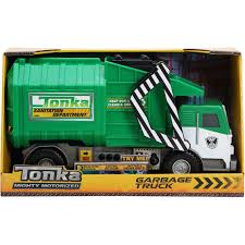 Funrise Tonka Mighty Motorized Garbage Truck | Cars, Trucks & Planes ...