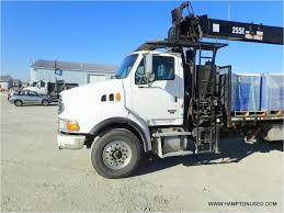 2006 STERLING LT9500 Boom | Bucket | Crane Truck For Sale Auction Or ...