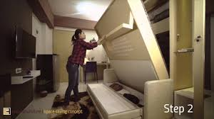 Creano Space Saving Concept for 1 Bedroom Studio type Apartment