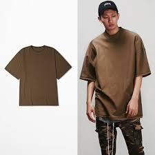 Men Oversized Rock Hip Hop T Shirt Kanye Vintage Streetwear Women Harajuku Punk Kpop Clothes Justin