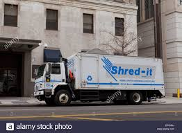 Shred-it Truck Parked In Front Of Government Building - Washington ...
