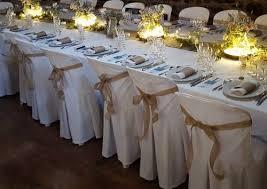 ruban pour noeud de chaise décorations de mariage naturel noeud chaise noeud et chaises