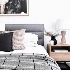 graues boxspringbett haus deko schlafzimmer design haus