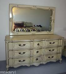 white company mebane antique french provincial dresser w mirror