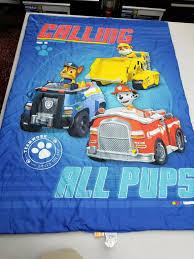 100 Toddler Truck Bedding Paw Patrol Calling All Pups Set Nickelodeon Blanket Comforter