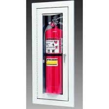 Kidde Semi Recessed Fire Extinguisher Cabinets by Fire Extinguisher Cabinets U0026 Parts Globalindustrial Com