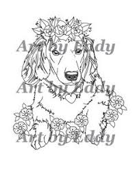 This Coloring Book Consists Of 18 Hand Drawn Images Beautiful Dachshunds For You To Color The File Is 3 High Quality PDF Files Each Containing