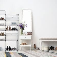 cabinets cupboards schuhregal kunststoff 12 fächer