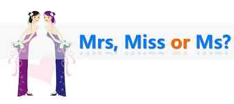 Jens English Tips Using Miss Mrs And Ms
