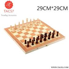 High Qulity 39cm X Classic Wooden Chess Set Board Trending Accessories