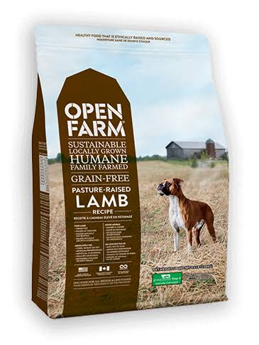 Open Farm Pasture Raised Lamb Recipe Grain-Free Dry Dog Food 24 lbs