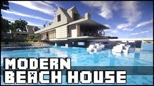 100 Modern Beach Home Minecraft House Yacht YouTube
