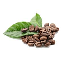 Coffee Beans Leaves Transparent PNG