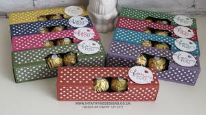Ferrero Rocher Christmas Tree Box by Fold Flat Ferrero Rocher Box Using The Regals Colour Family Youtube