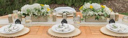 Wedding Decorations Rustic Decor