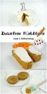 zuckerfreie rüeblitorte karottenkuchen möhrenkuchen zum 1