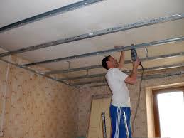 comment poser faux plafond placo isolation travaux fenetre