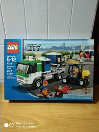 100 Lego Recycling Truck City 4206 Retired Rare And Hard To