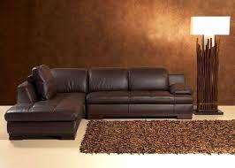 canapé d angle rue du commerce canapé d angle cuir chocolat intérieur déco