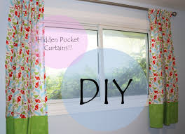 Lined Curtains For Bedroom by Tutorial Hidden Pocket Curtains For Bedroom Youtube