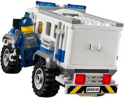 100 Lego Police Truck LEGO City Bulldozer BreakIn 4 60140 LEGO City LEGO City