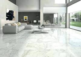 Light Grey Floor Tiles Living Room Ceramic