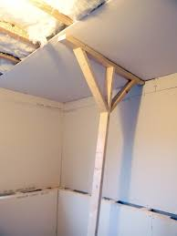 Sheetrock Vs Ceiling Tiles by Hang Drywall On The Ceiling By Yourself Home Maintenance