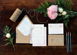 Rustic Garden Wedding Invitation Suite By Brooke Dolan