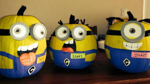 Minion Pumpkin Carvings by 21 Awesome Pumpkin Halloween Decorations Hexjam