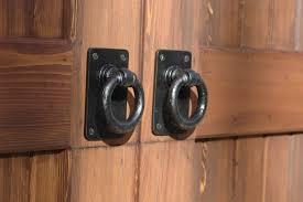 Carriage Rustic Barn Door Pulls