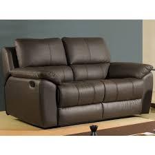 la maison du canapé canapé cuir 2 places giorgina la maison du canapé pas cher à prix