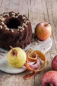 saftiger schokoladen apfel gugelhupf