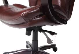 Tall Office Chairs Amazon by Amazon Com Serta Bonded Leather Big U0026 Tall Executive Chair Brown