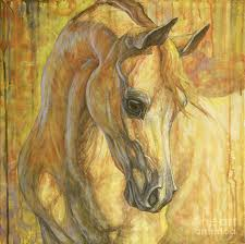 Famous Paintings Of Horses Gentle Spirit Abstract Modern Art For Home Decor Oil On Canvas High Quality Hand Painted In Painting Calligraphy From