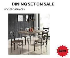 Natural Colored Dining Table Sale WO 7724 BD 2602
