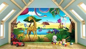 décoration jungle chambre bébé decoration jungle chambre bebe papier peint chambre fille leroy