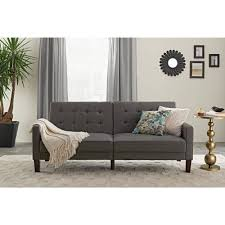 Sofa Beds At Walmart by Braxton Leatherette Sofa Bed Brown Walmart Com
