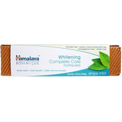 Himalaya Botanique Whitening Complete Care Toothpaste - 150g