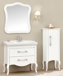 casa padrino luxus barock badezimmer set weiß silber 1 waschtisch 1 waschbecken 1 wandspiegel 1 kommode edel prunkvoll luxus qualität