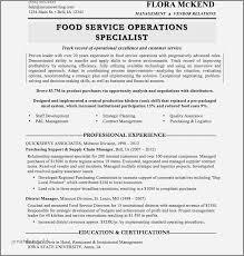 Resume For Cafe Template Best Of Restaurant Server Sample Rh Jonahfeingold Com Resumes Waiter