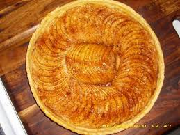 French Rustic Apple Tart