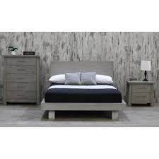 King Platform Bed With Leather Headboard by Platform Beds U0026 Headboards Bedroom Furniture The Home Depot