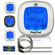 Chef Decor At Target by Amazon Com Chef King Barbecue Digital Thermometer With 2
