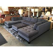 Microfiber Sofas And Sectionals by Furniture Microfiber Sofa Sectionals Tufted Sectional Sofa With