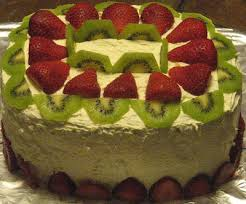 Made this for my dear hubby s birthday its a double layer white cake with strawberry filling The recipe is pretty much the same as before