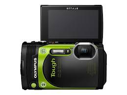 Amazon Olympus TG 870 Tough Waterproof Digital Camera Green