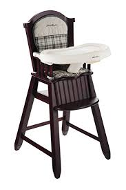 Ed Bauer Newport Collection Wood High Chair Stonewood