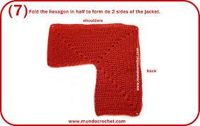 crochet baby hexagon jacket crochet baby hexagon sweater