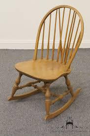 Nichols And Stone Windsor Rocking Chair by High End Used Furniture Nichols U0026 Stone Co Bowback Windsor